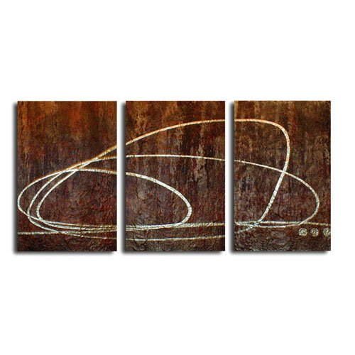 Modern Contemporary oil paintings on Canvas abstract painting set 292