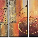 Modern Contemporary oil paintings on Canvas abstract painting set 329