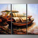Modern Contemporary oil paintings on Canvas still life painting set 347
