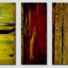 Modern Contemporary oil paintings on Canvas abstract painting set 345