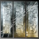Modern Art Deco oil paintings on Canvas abstract painting set 379