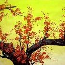 Modern Art Deco oil paintings on Canvas flower painting set 418