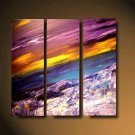Modern Art Deco oil paintings on Canvas abstract painting set 485