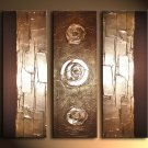 Modern Art Deco oil paintings on Canvas abstract painting set 682