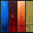 Modern contemporary oil paintings on canvas abstract painting set 718