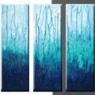 Modern contemporary oil paintings on canvas abstract painting set 720