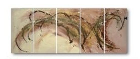 Modern contemporary oil paintings on canvas abstract painting set 722