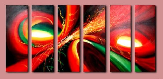 Modern contemporary oil paintings on canvas abstract painting set 726