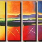 Modern contemporary oil paintings on canvas abstract painting set 730