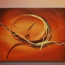 Handmade Art deco Modern abstract oil painting on Canvas set 09067