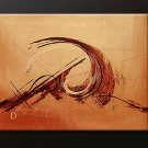 Handmade Art deco Modern abstract oil painting on Canvas set 09074