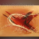 Handmade Art deco Modern abstract oil painting on Canvas set 09079