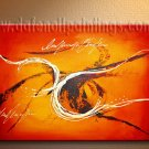 Handmade Art deco Modern abstract oil painting on Canvas set 09087