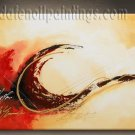 Handmade Art deco Modern abstract oil painting on Canvas set 09134