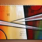 Handmade Art deco Modern abstract oil painting on Canvas set 09168