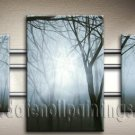 Handmade Art deco Modern abstract oil painting on Canvas set 09228