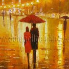 Modern impressionism palette knife oil painting on canvas kp001