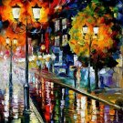 Modern impressionism palette knife oil painting on canvas kp015