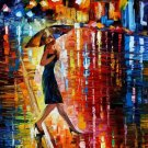 Modern impressionism palette knife oil painting on canvas kp028