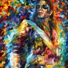 Modern impressionism palette knife oil painting on canvas kp030