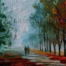 Modern impressionism palette knife oil painting on canvas kp047