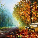 Modern impressionism palette knife oil painting on canvas kp059
