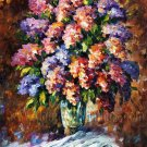 Modern impressionism palette knife oil painting on canvas kp060