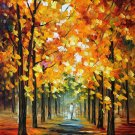 Modern impressionism palette knife oil painting on canvas kp070