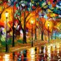Modern impressionism palette knife oil painting on canvas kp085
