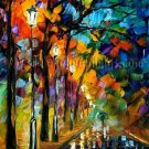 Modern impressionism palette knife oil painting on canvas kp094