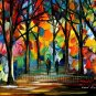 Modern impressionism palette knife oil painting on canvas kp096
