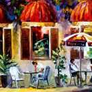 Modern impressionism palette knife oil painting on canvas kp111