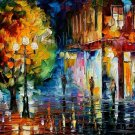 Modern impressionism palette knife oil painting on canvas kp115