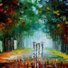 Modern impressionism palette knife oil painting on canvas kp121