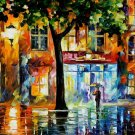 Modern impressionism palette knife oil painting on canvas kp138