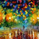 Modern impressionism palette knife oil painting on canvas kp150