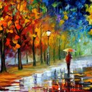 Modern impressionism palette knife oil painting on canvas kp169