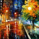 Modern impressionism palette knife oil painting on canvas kp177