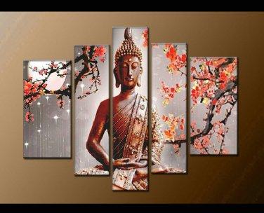 Contemporary zen art Buddha oil painting Buddha006