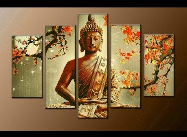 Contemporary zen art Buddha oil painting Buddha009