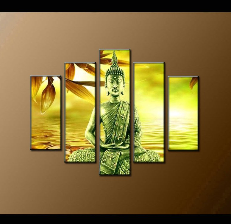 Contemporary zen art Buddha oil painting Buddha011