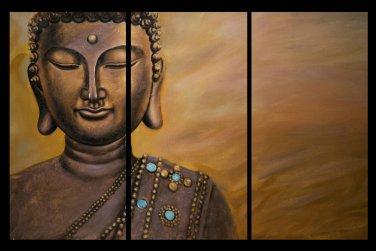 Contemporary zen art Buddha oil painting Buddha014