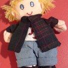 CHARMING SMALL CLOTH DOLL BOY SAVE THE CHILDREN DOLL 'ERIK'