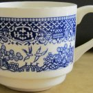 VINTAGE BLUE WILLOW WARE SMALL COFFEE/TEA CUP USA