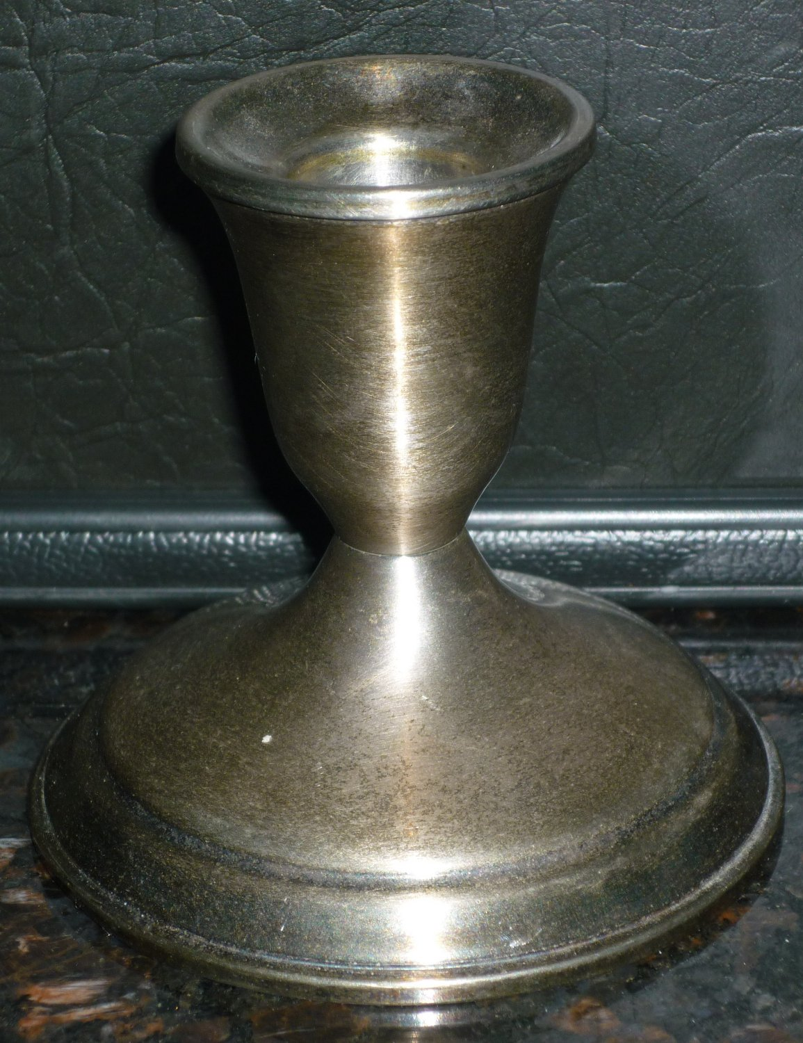 VINTAGE TOWLE SILVERPLATE CANDLE HOLDER STAND 3178