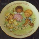 AVON 1983 MOTHER'S DAY PLATE JAPAN LOVE IS THE SONG FOR MOTHER