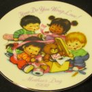 AVON 1992 MOTHER'S DAY COLLECTORS PLATE   MB