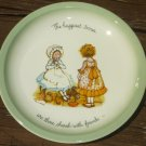 VINTAGE HOLLY HOBBIE PLATES SET OF 3 BY AMERICAN GREETINGS CLEVELAND COLLECTORS