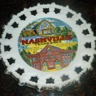 VINTAGE TRAVEL MEMORABILIA NASHVILLE TENNESSEE LATTICE PORCELAIN PLATE 8""