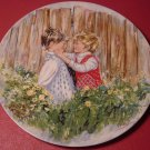 "WEDGWOOD CHARMING COLLECTIBLE PLATE MARY VICKERS ""BE MY FRIEND"" MY MEMORIES"